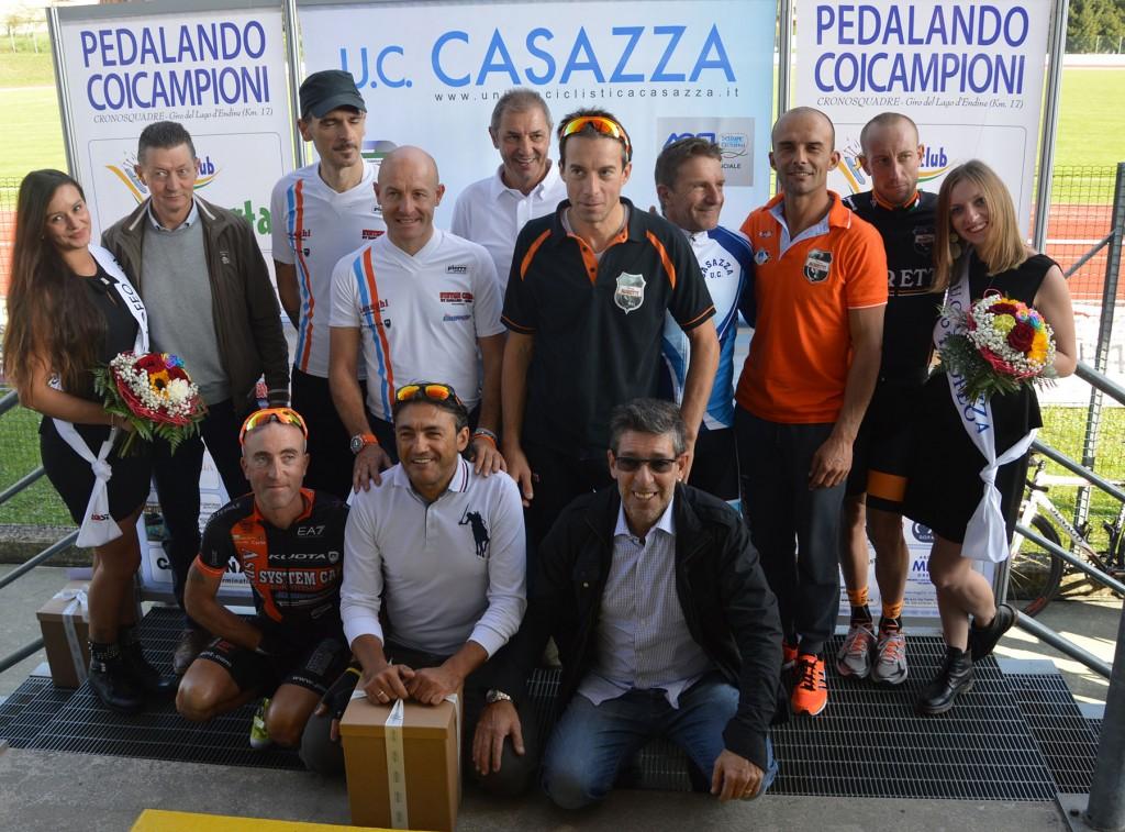 podio 10° Pedalando coi campioni