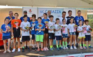 La premiazione dei vincitori delle prove della Coppa Ambrosini 2019