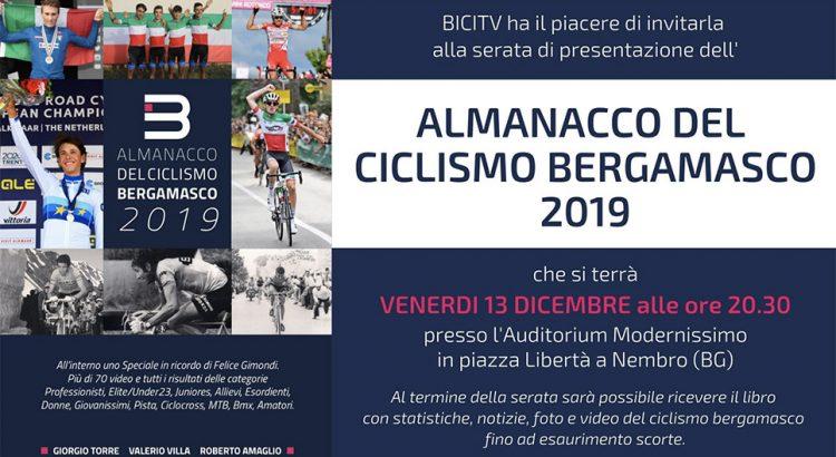 Presentazione Almanacco ciclismo 2019