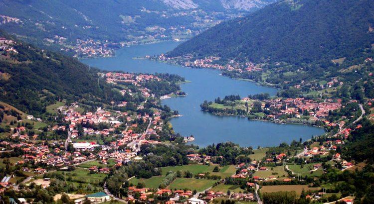 Vista del Lago di Endine